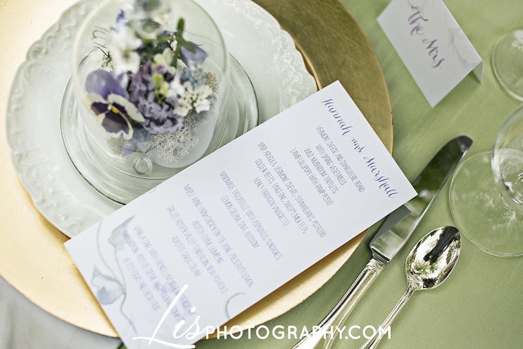 Purple Vermont Bridal Inspiration at The Old Round Church | Edera Bridal Jewelry