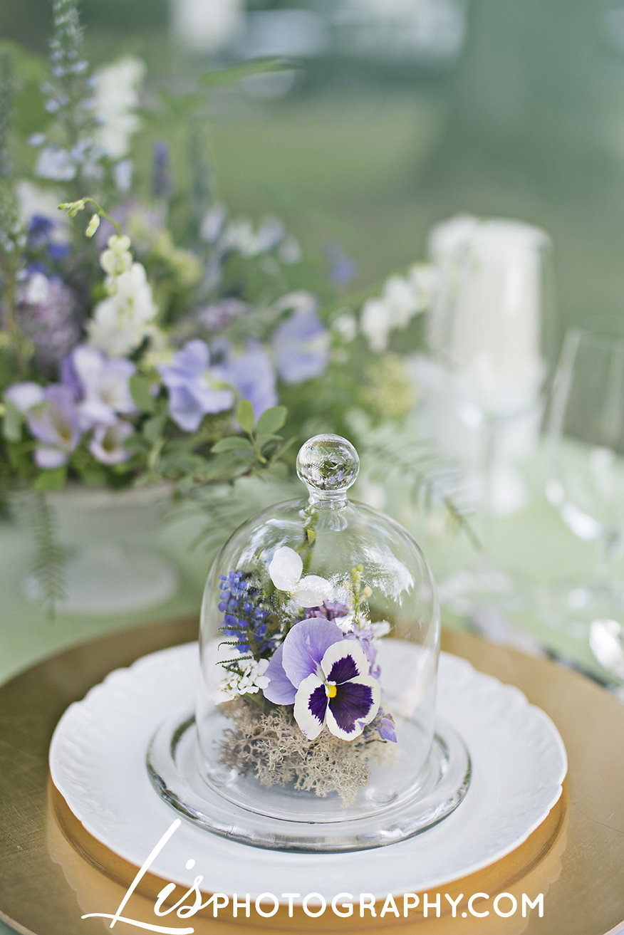 Rustic New England Spring Wedding with Purple, Lavender Details | Edera Jewelry Blog