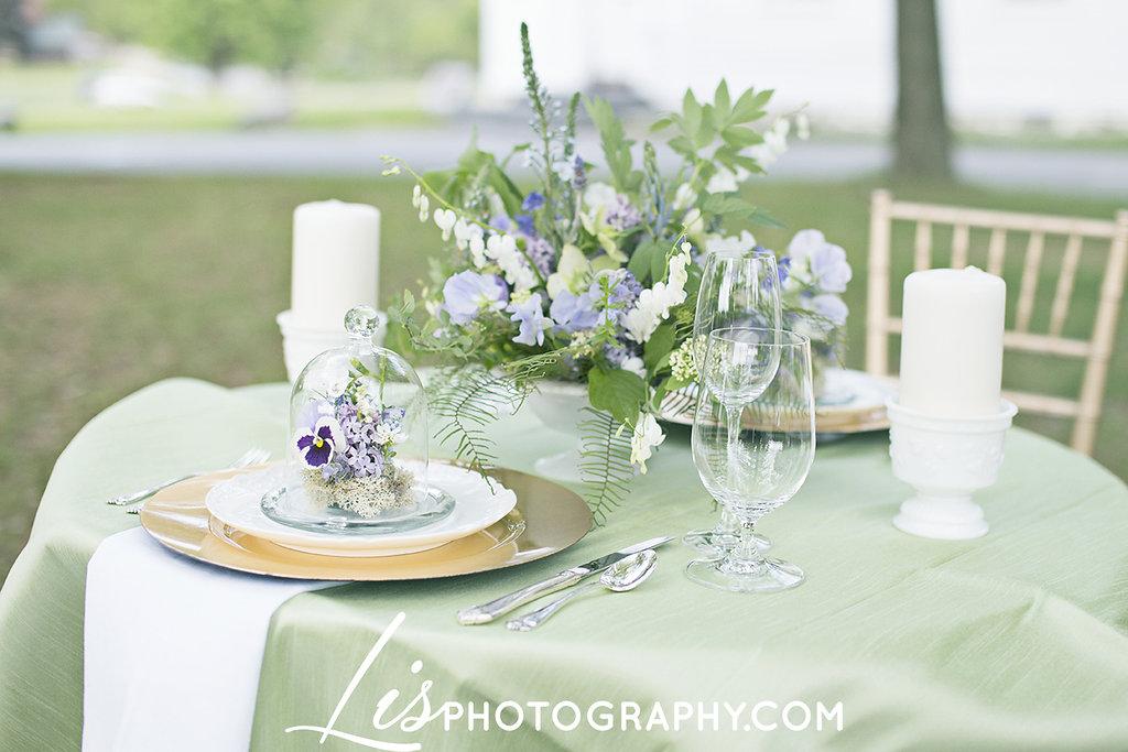 Purple & Green Rustic Springtime Vermont Wedding | Edera Jewelry Blog