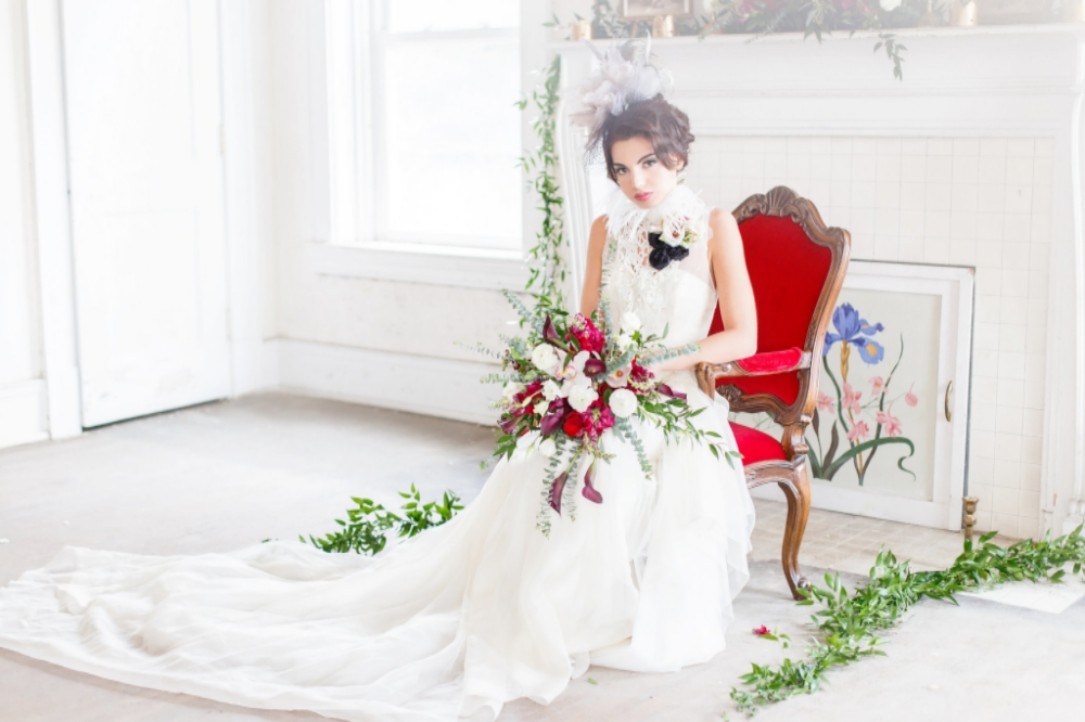 Couture Winter Wedding Inspired by Russia | Edera Jewelry Blog
