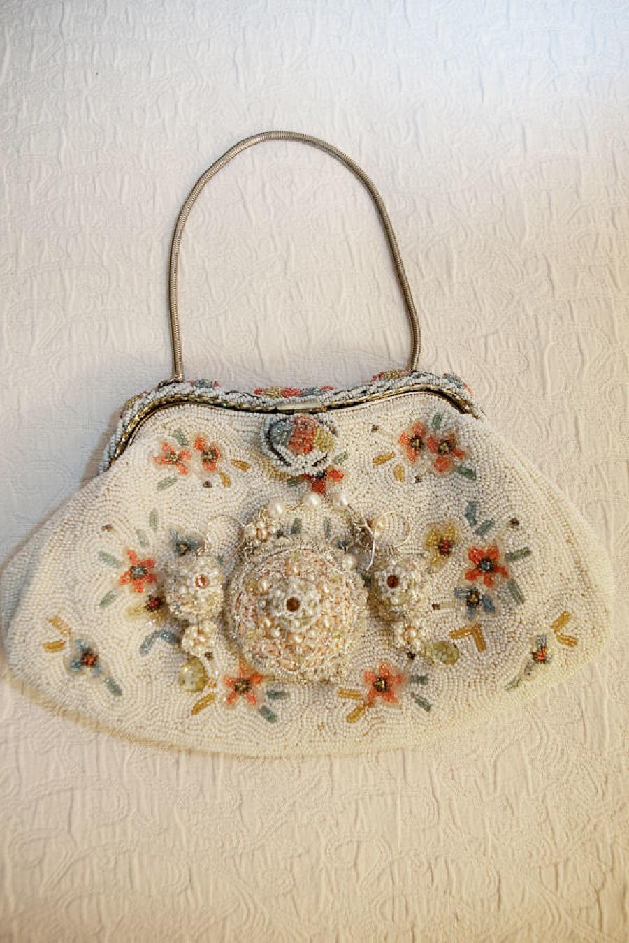 Custom, Retro Bridal Jewelry Set by Edera Jewelry