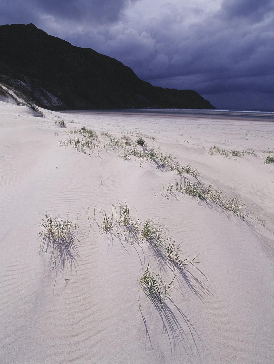 white sand beach, Ireland