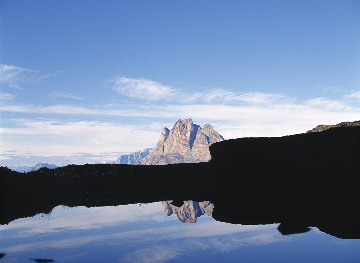 reflection, Greenland