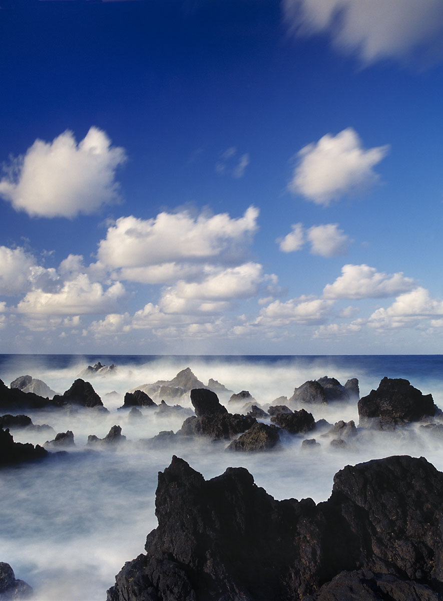 rocks and surf, Porto Moniz, Madeira