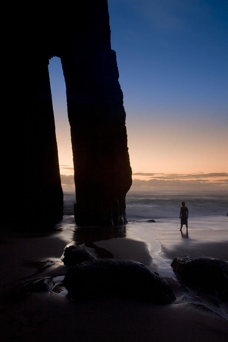 sea arch, Praia Grande, Portugal