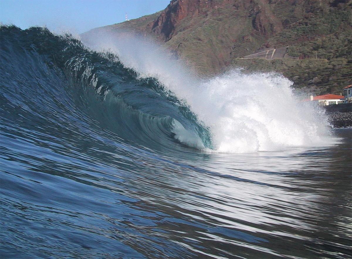 water shot, Paul do Mar