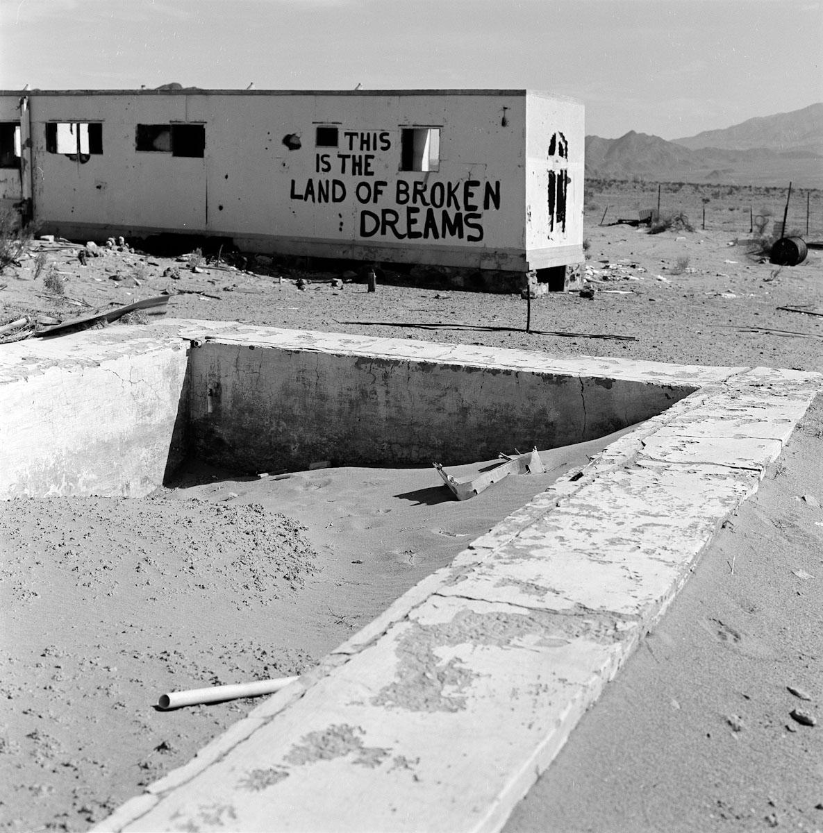 abandoned home, Mojave Desert, CA