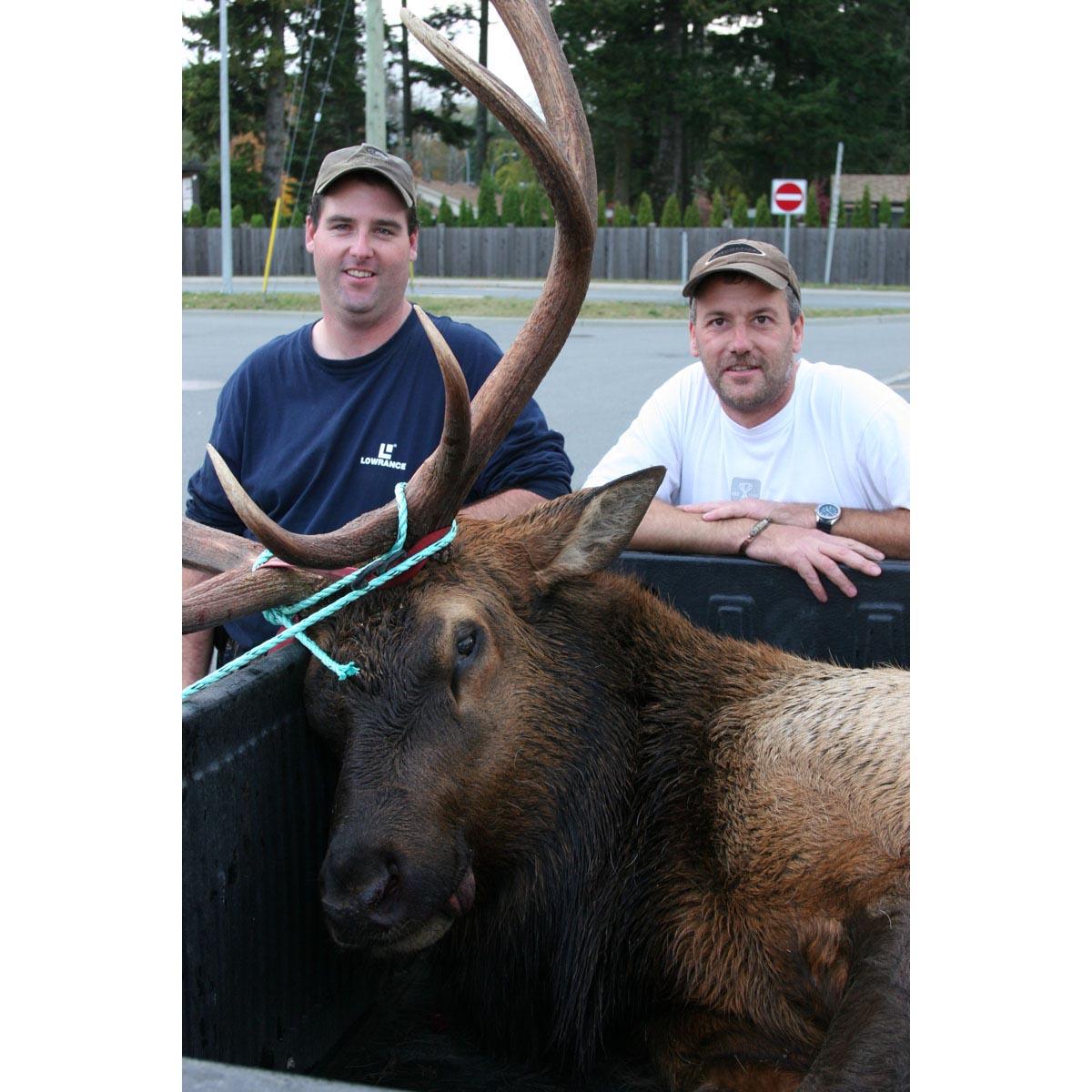 hunters, Vancouver Island