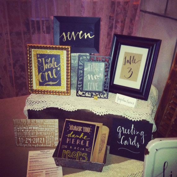 My booth this past weekend at the Boutique Bridal Bazaar. Wedding decor galore! Such a great time.