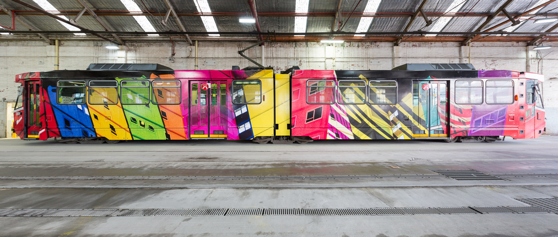 Melbourne Art Trams 2015