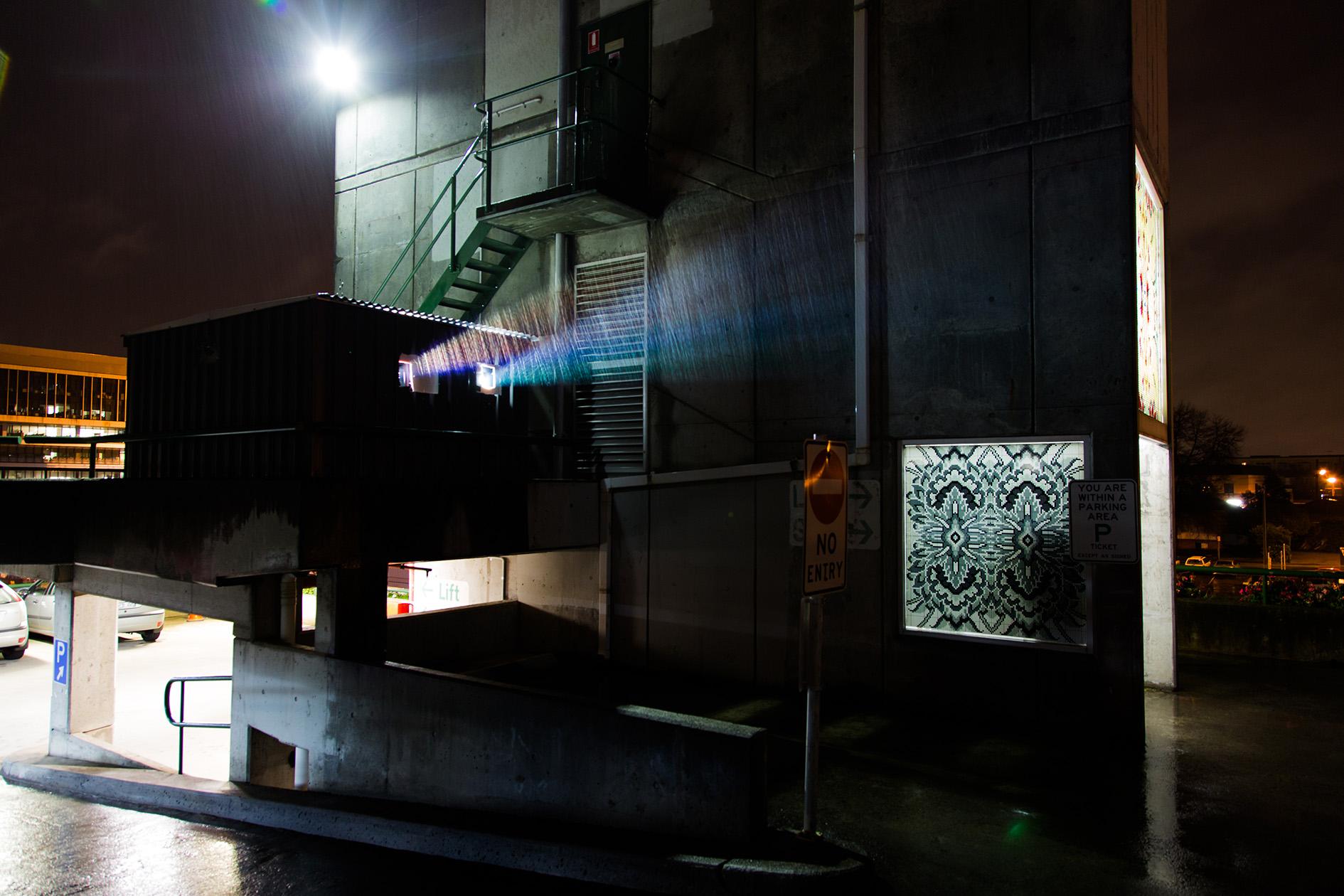 Pani still projection. Photo James HH Morgan
