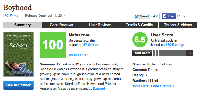 (Screenshot of Metacritic.com courtesy of Wikipedia.org)