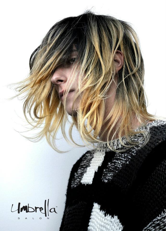 Model: Yanik   Hair:  Nathan Nguyen  for Umbrella Salon   Photography: VINETADESIGN.COM   Graphics: Daniel Tran for IAMDESIGN   Fashion from Black and Brown