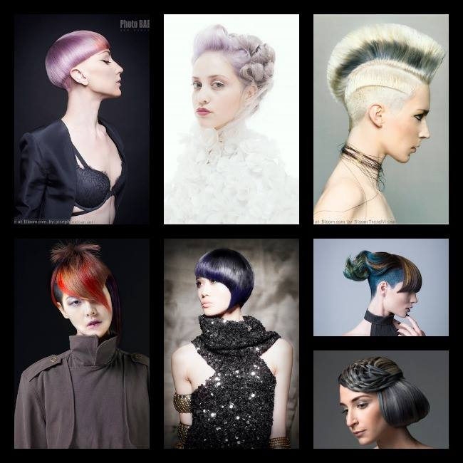 First row, second image. Hair by Dacia Carroll for Umbrella Salon