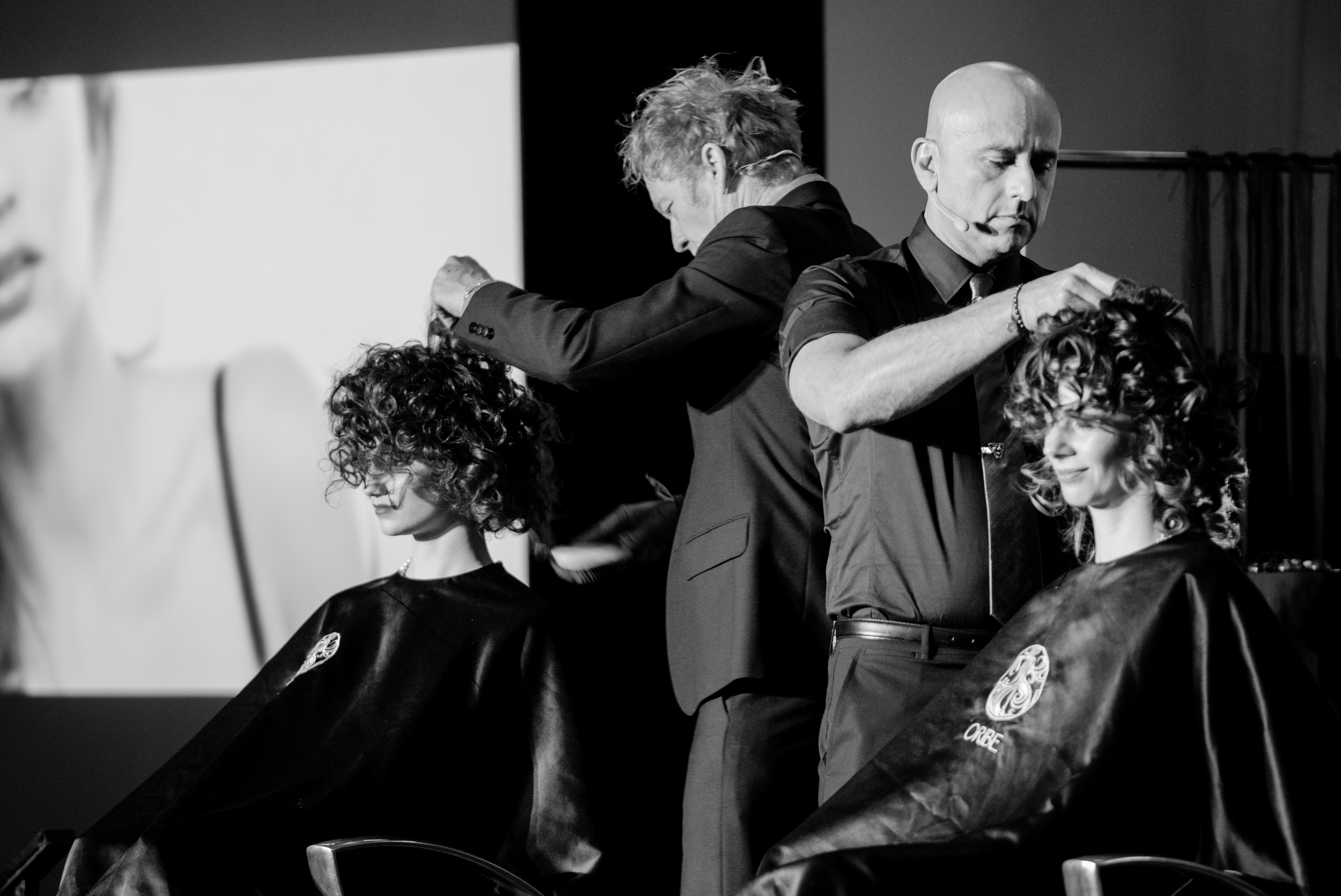 Hair by Ronnie Stam, Hair by Louis Orozco, Oribe Hair Care | On the Road - Chicago, Photographed by Khiem Hoang