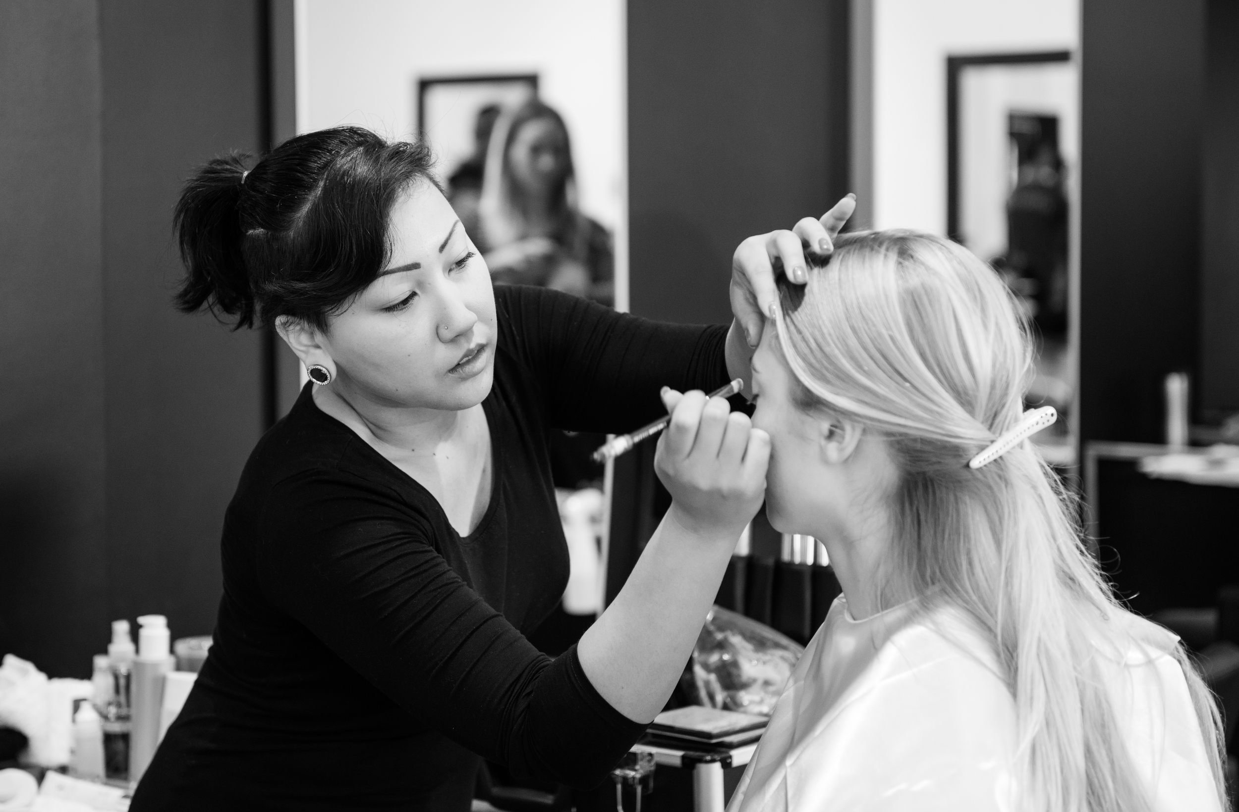 Content Magazine | Image Challenge '14 | Behind The Scenes | Hair by Umbrella Salon  Photo by: Khiem Hoang