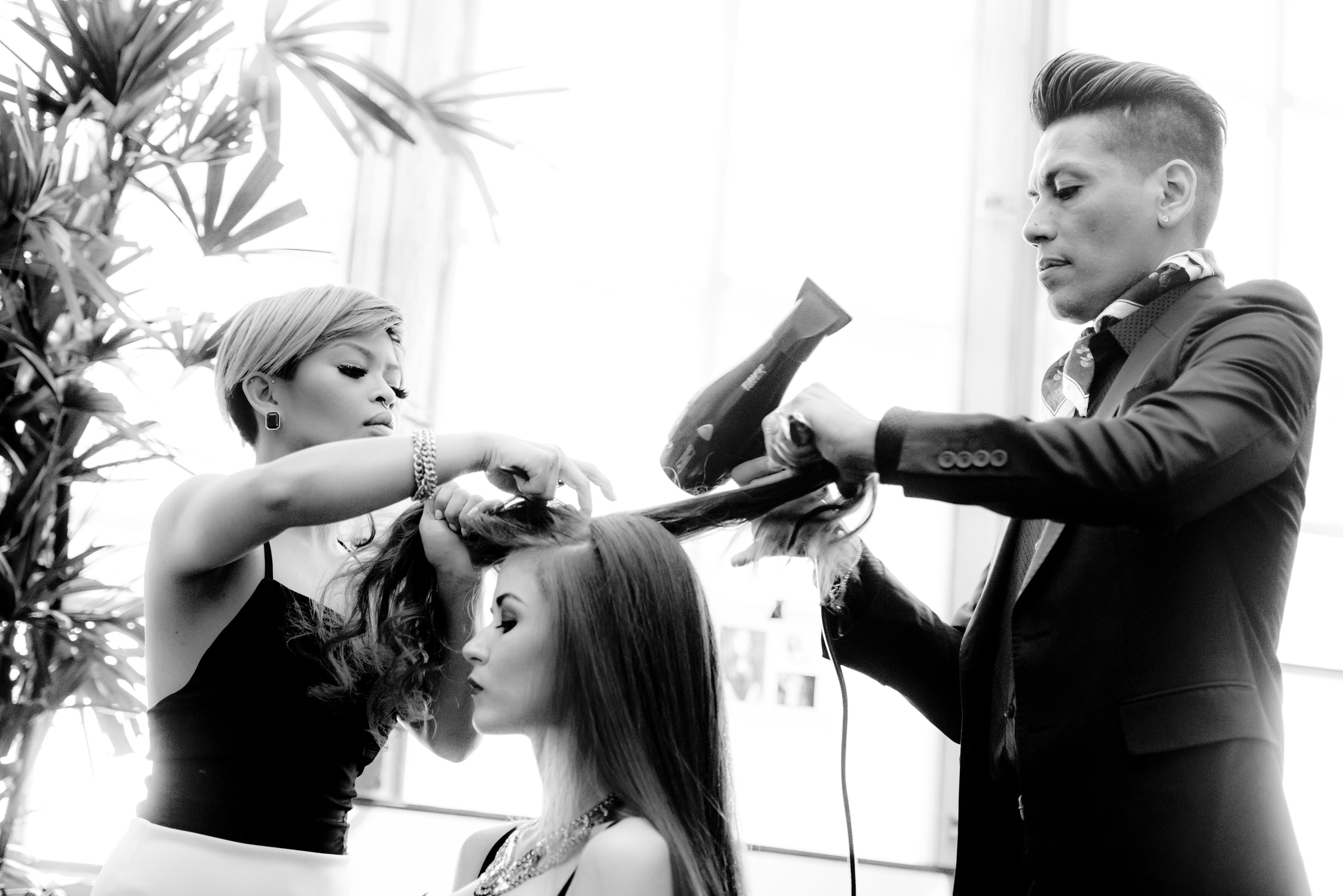 ORIBE ON THE ROAD | SAN FRANCISCO   Hair: Kien Hoang, Ronnie Stam, Louis Orozco | Oribe Hair Care  Photography: Khiem Hoang