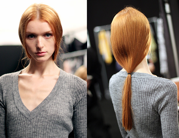 NOON BY NOOR | NEW YORK FASHION WEEK | SPRING/SUMMER 2015 | ORIBE HAIR CARE  Key Hair: Linh Nguyen for Kate Ryan Inc. Hair: Oribe Hair Care Team. Kien Hoang for Oribe Hair Care. Nathan Nguyen for Umbrella Salon. Special Thanks: Talia Thomas of Oribe Hair Care.  Photo courtesy of Oribe.com