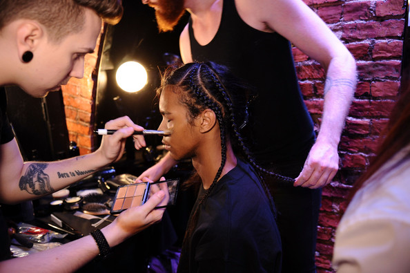 LUAR ZEPOL | BACKSTAGE NYFW | SPRING/SUMMER 2015 | ZIMBIO  Key Hair: Amy Farid for Kate Ryan Inc. Hair: Oribe Hair Care Team. Kien Hoang for Oribe Hair Care. Nathan Nguyen for Umbrella Salon. Special Thanks: Talia Thomas of Oribe Hair Care.   Photos:  Ilya S. Savenok/Getty Images North America