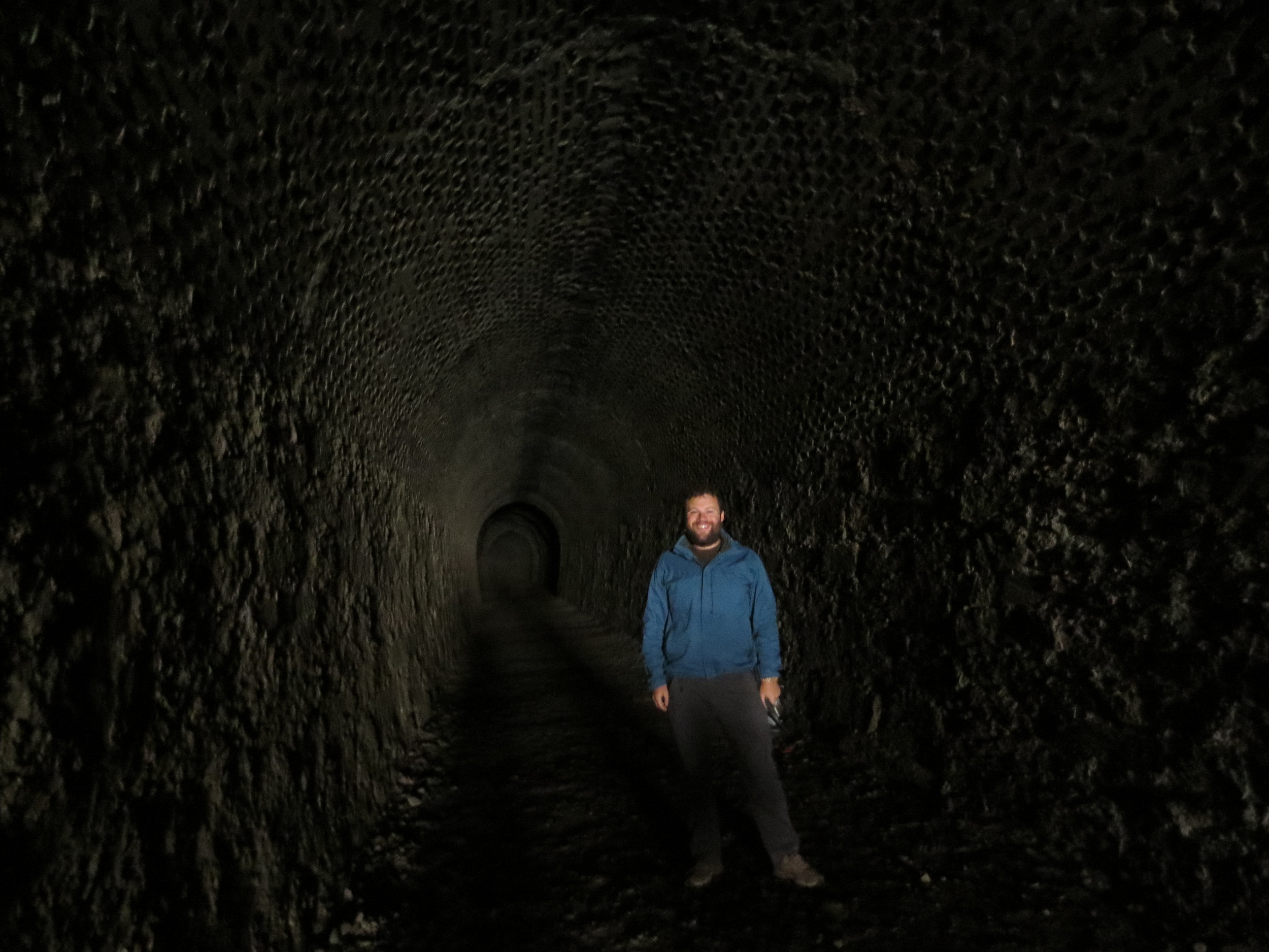 Otago Rail Trail Tunnel #3 - New Zealand