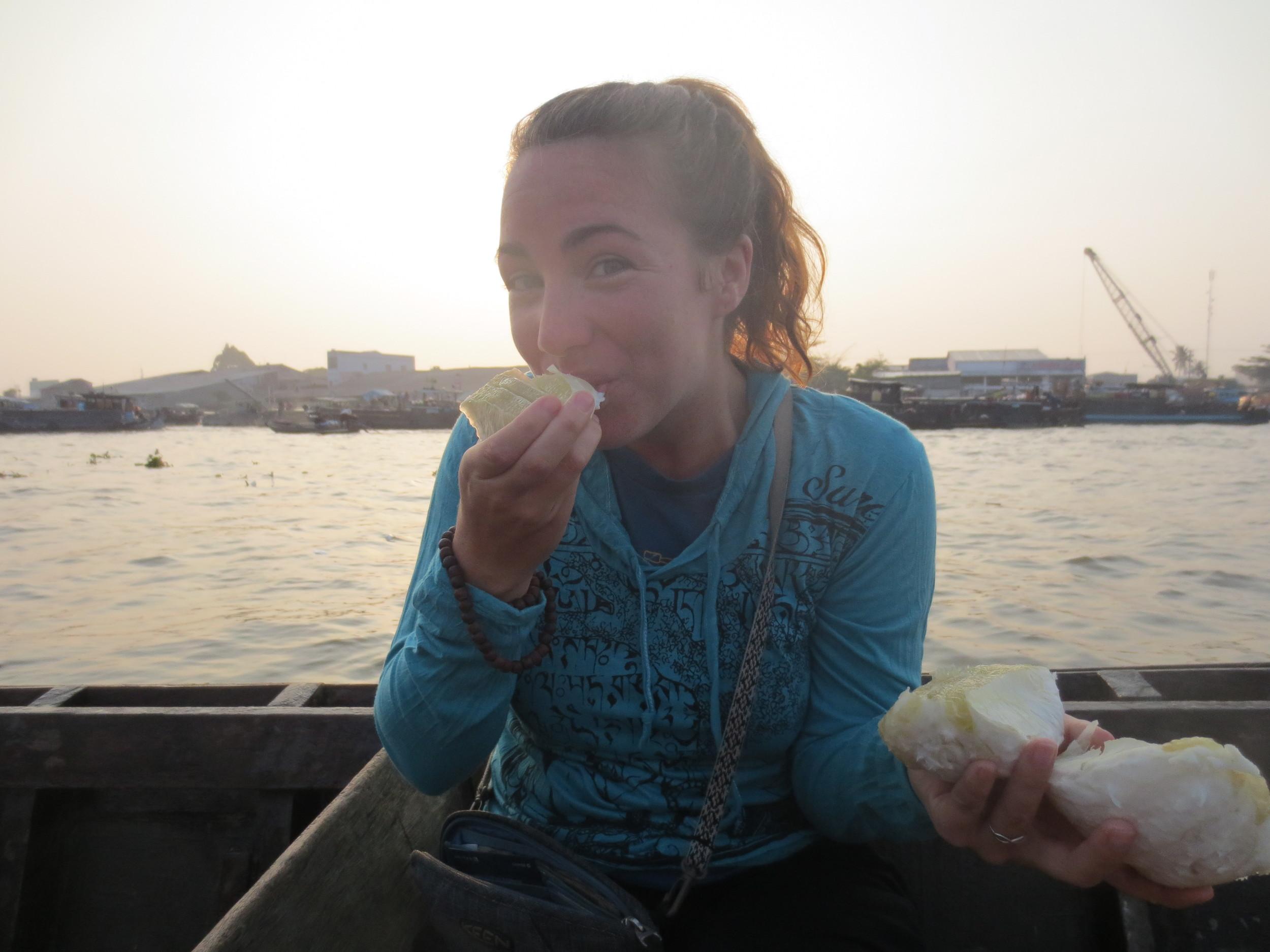 Break of Dawn Floating Market - Mekong River, Vietnam