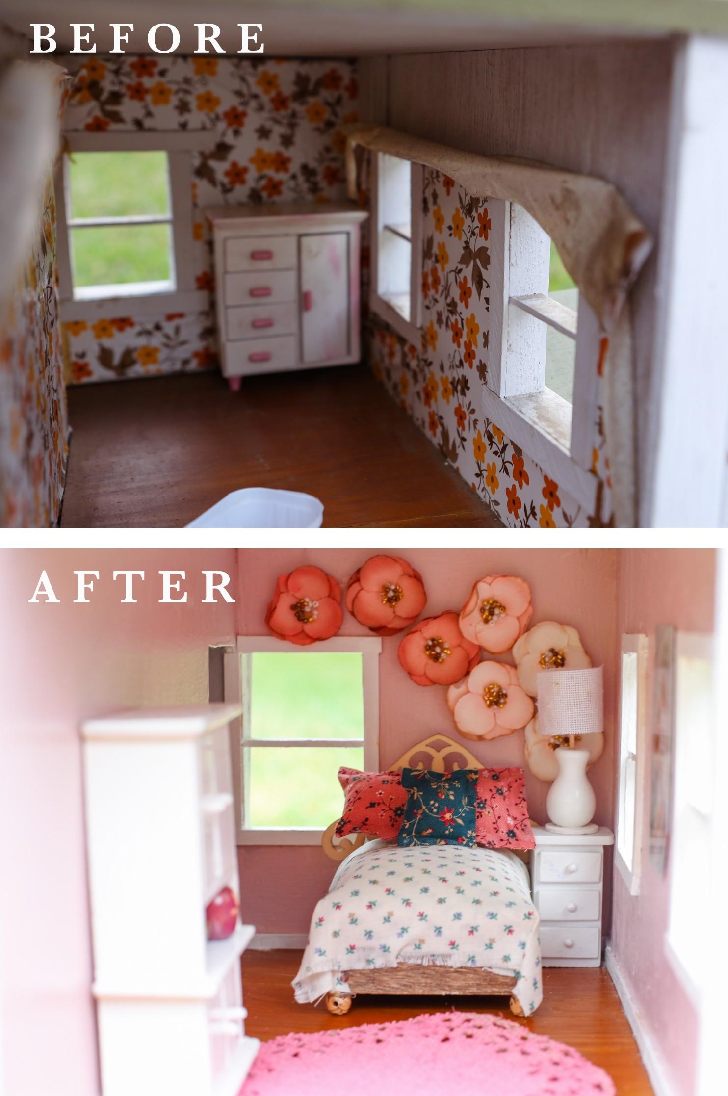 FIXER UPPER DOLLHOUSE BEDROOM