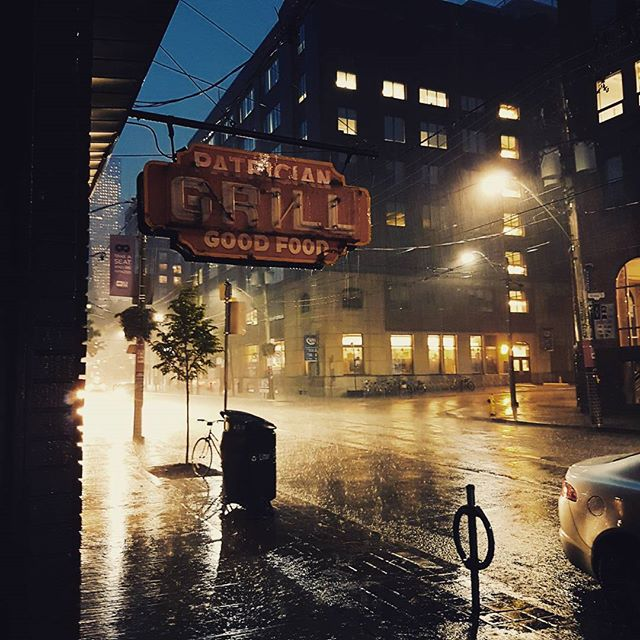 #rain soaked walk home. Still beautiful. . . . . .  #vsco #vscocam #toronto