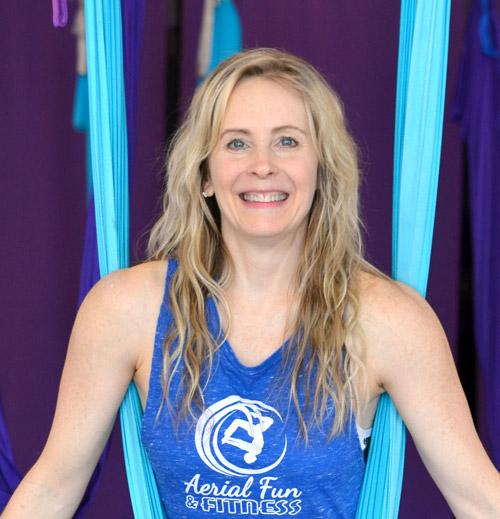 Zina DiTonno, Master Aerial Fitness Trainer