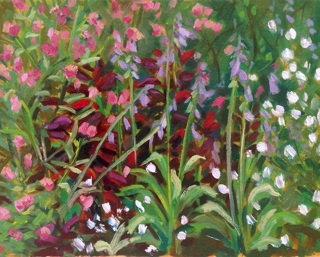"""""""Wild"""" oil on canvas panel, 2016."""