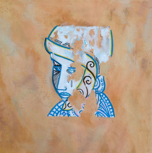 No. 2 - acrylic on canvas.