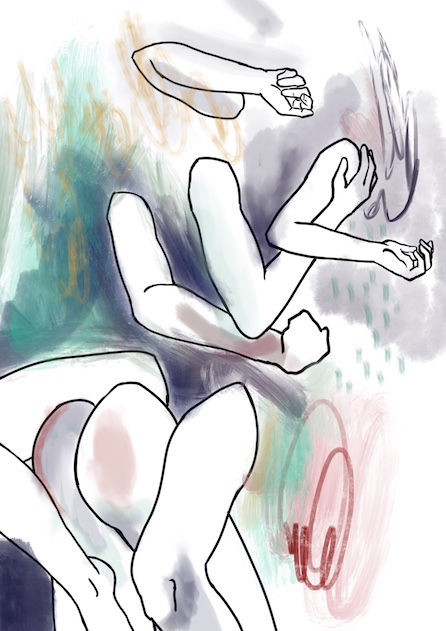 """Play"" Digital Painting, 2019."