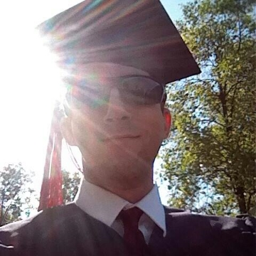 That's me at graduation from Carnegie Mellon. I majored in civil engineering, with a minor in architecture. I owe a lot of money in loans. And I want to do comedy. Isn't life weird?