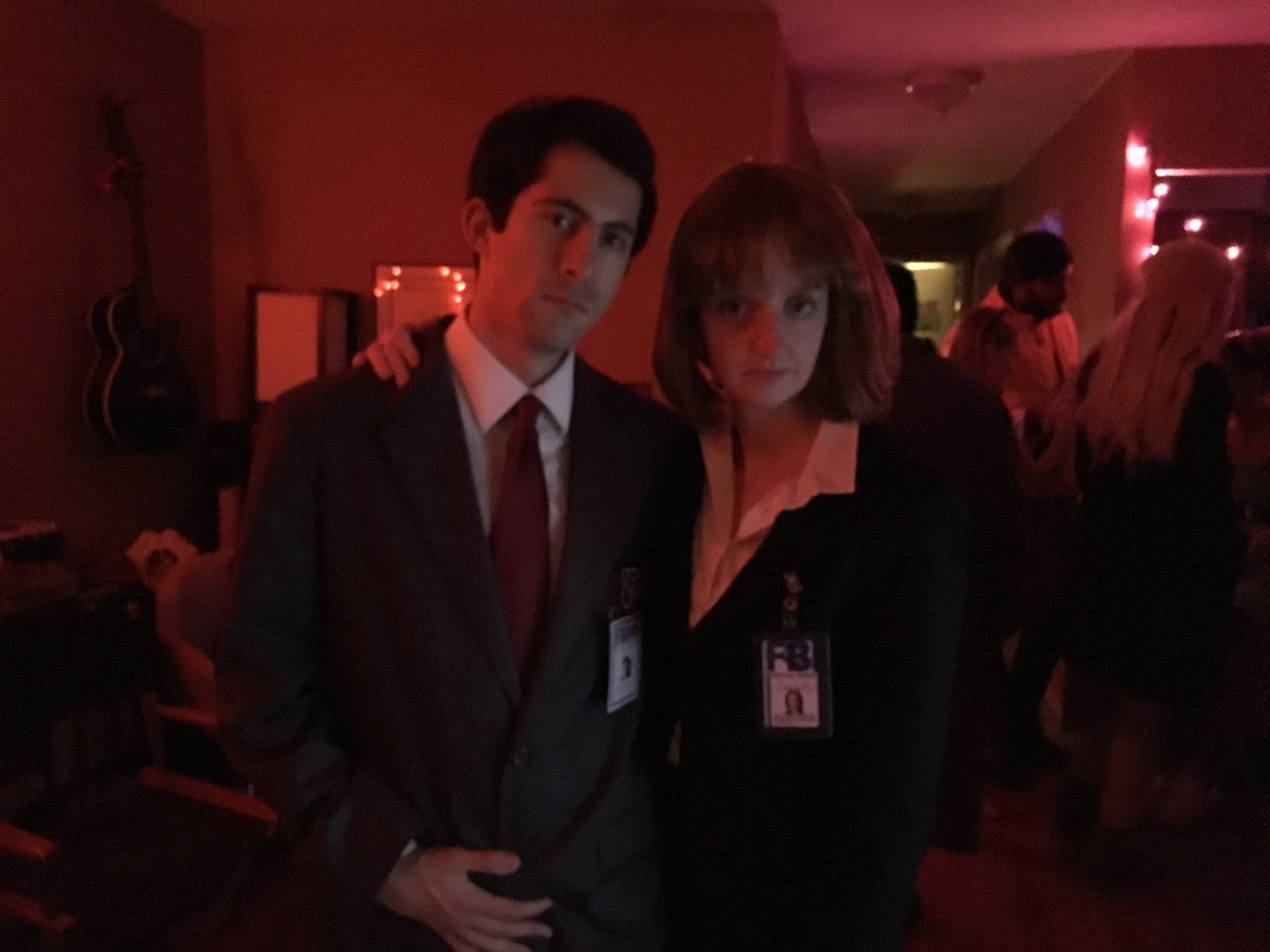 Fox Mulder and Dana Scully - X-Files