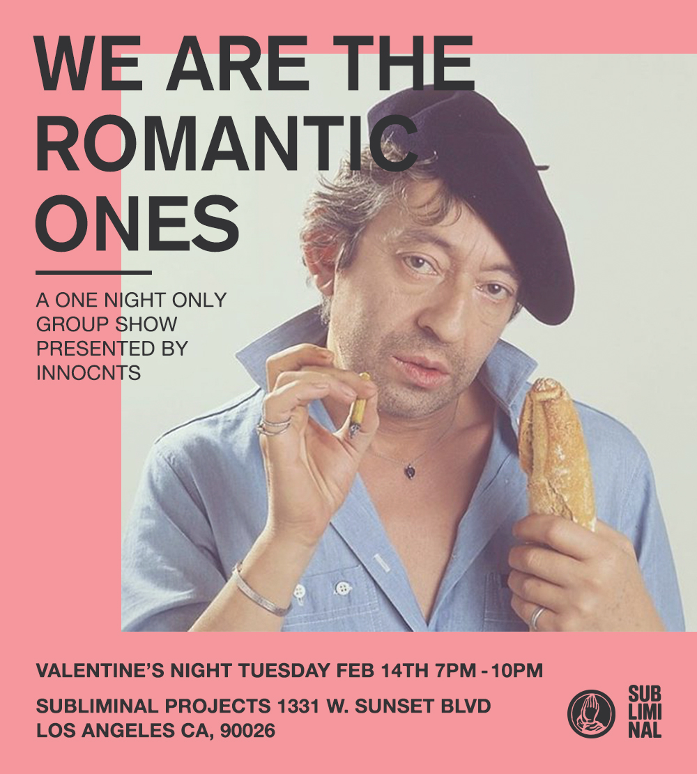 GROUP SHOW - WE ARE THE ROMANTIC ONES
