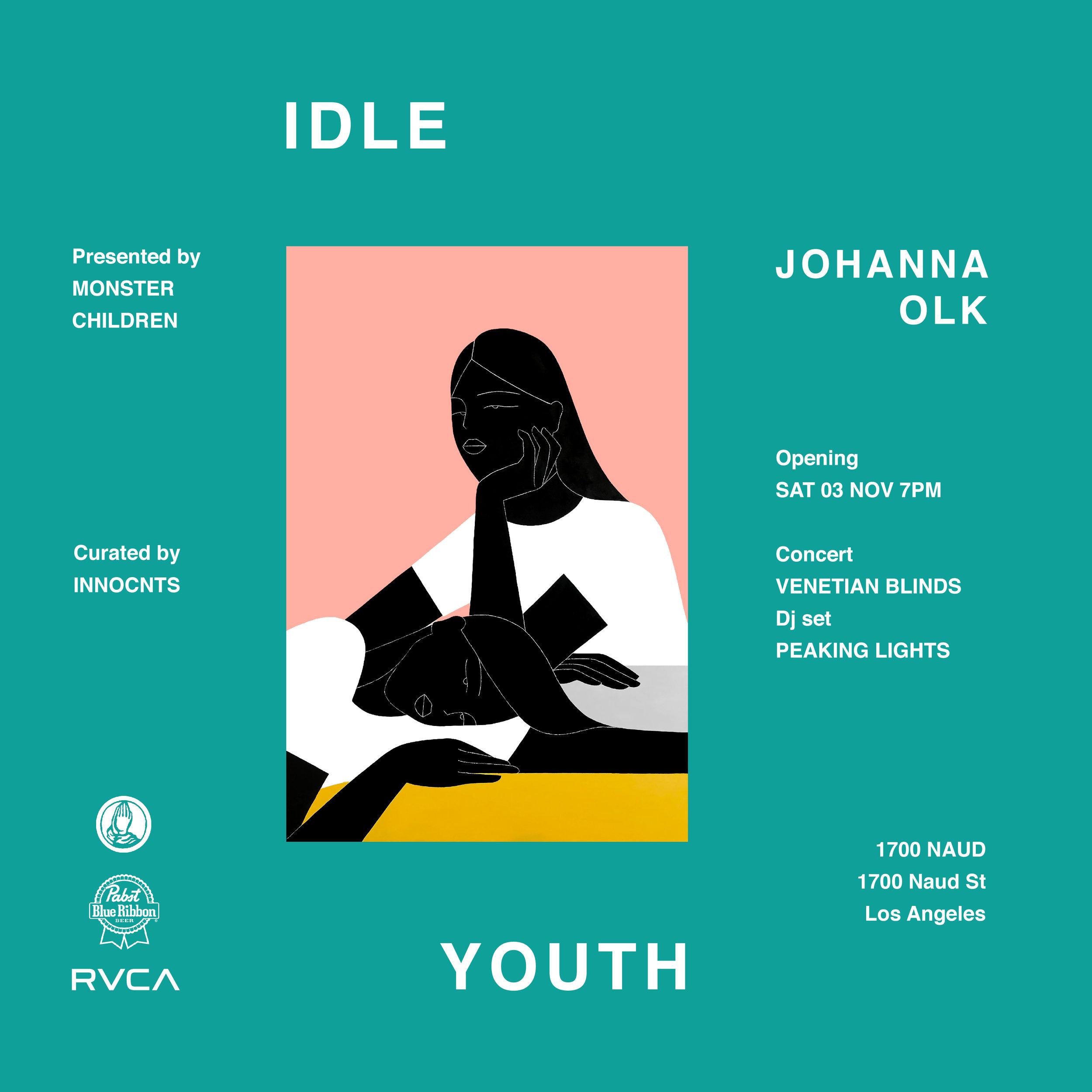 JOHANNA OLK - IDLE YOUTH