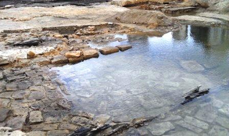 Munn's slip at high tide, Millers Point. 15/6/2013