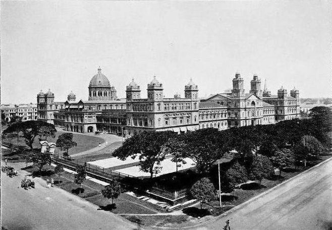 View of the Secretariat Building, 1900s