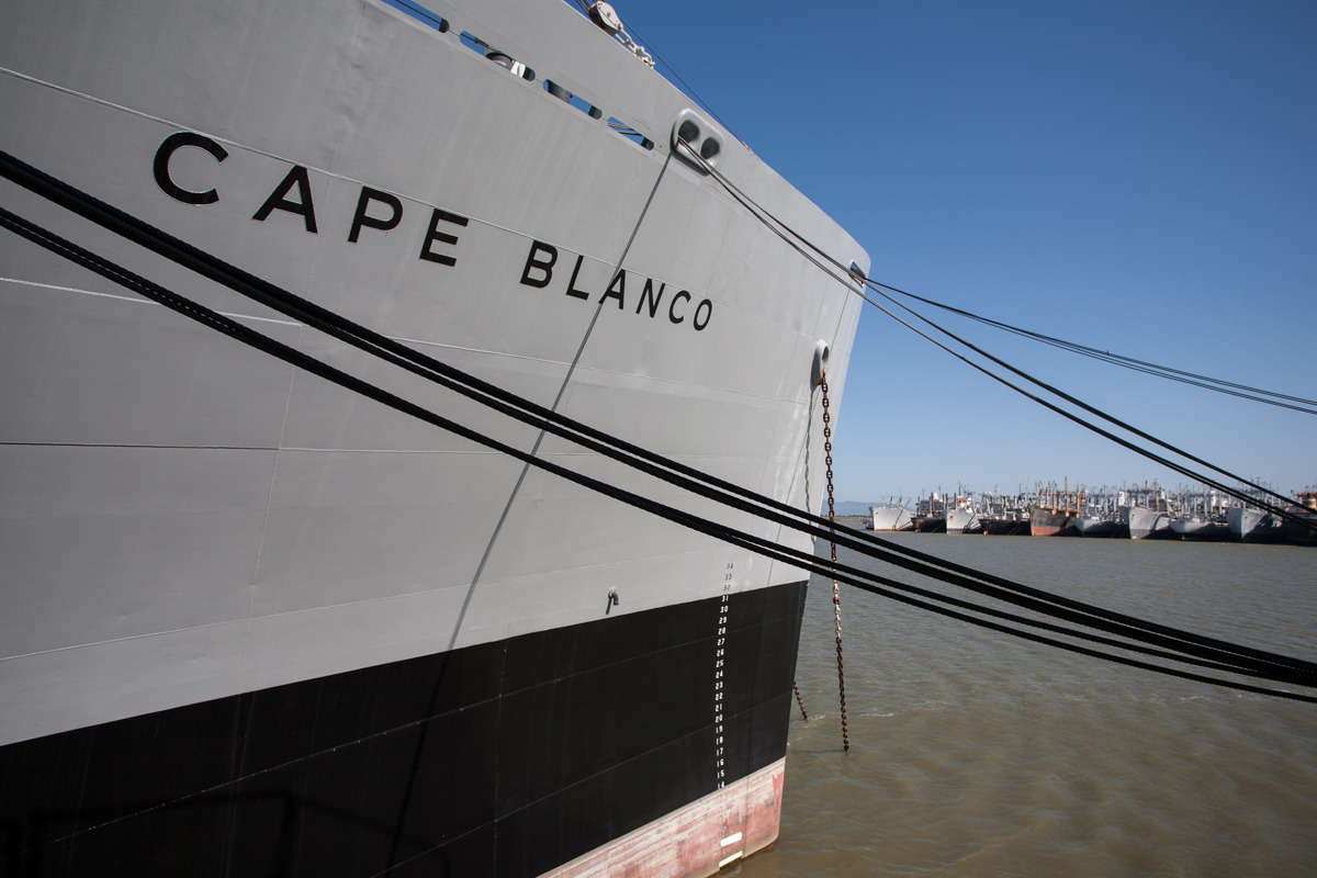 SS Cape Blanco, cargo ship   Commissioned: 1966