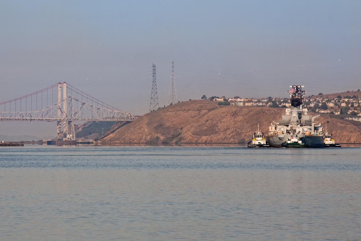 October 2011   |  Mothball Fleet to Richmond  |  California