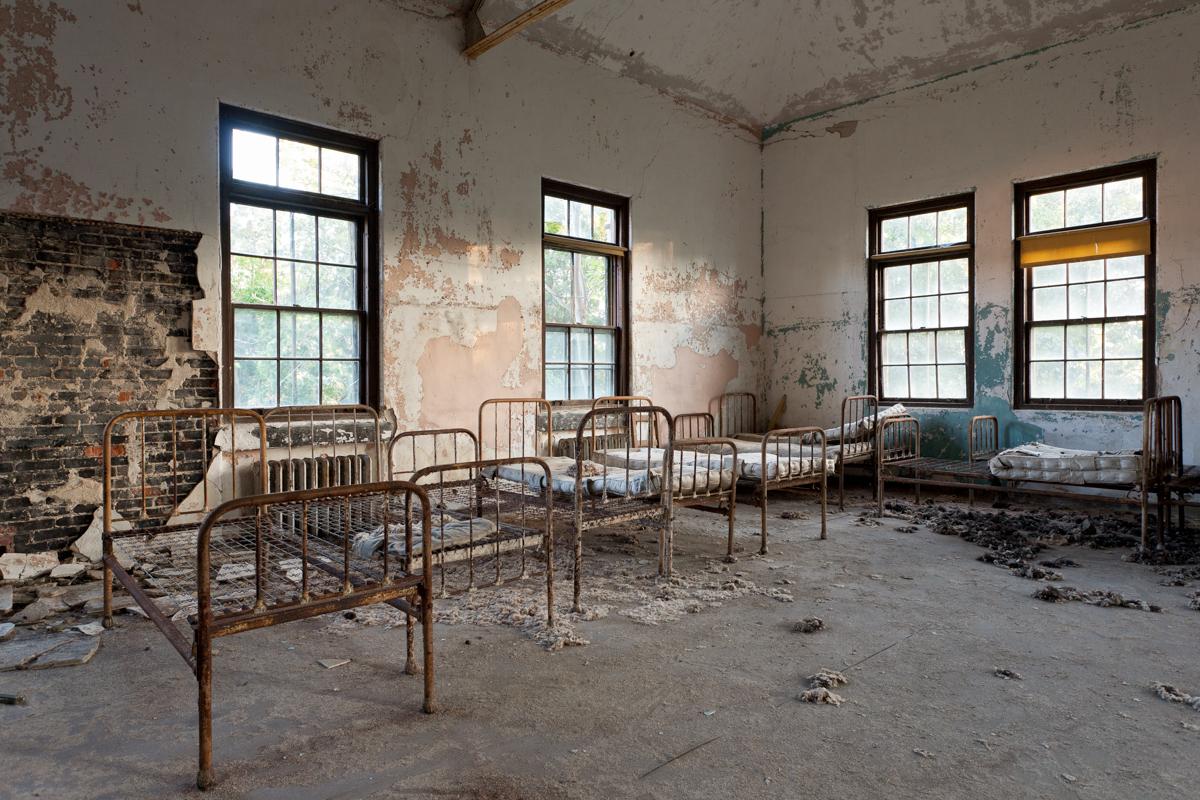 Galt Building  |  Norwich State Hospital (Demolished)  |  Connecticut