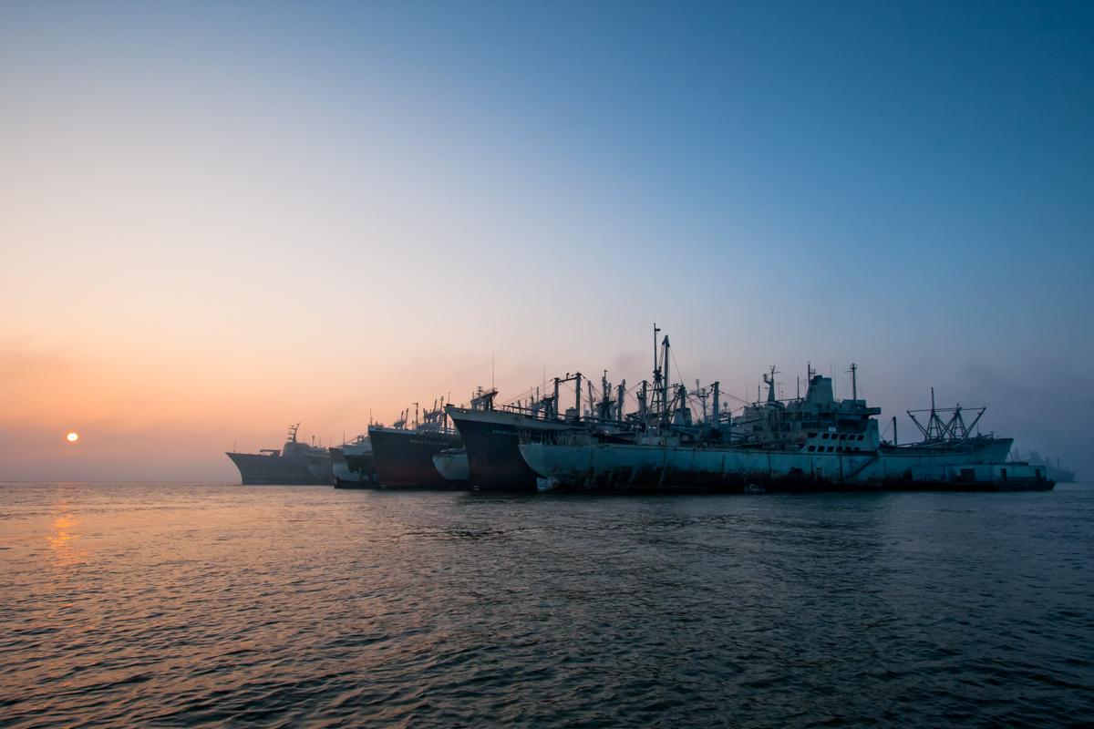 Suisun Bay Mothball Fleet     California