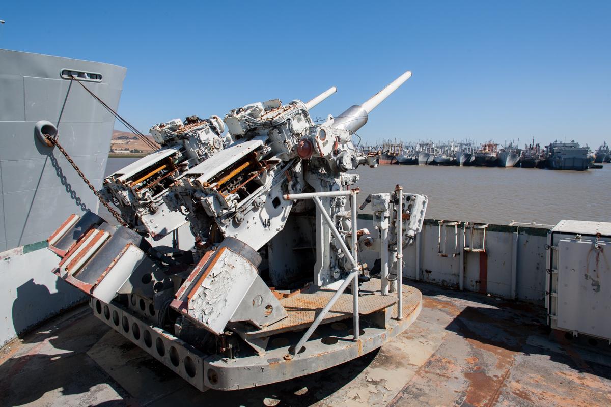 USS Tulare     Suisun Bay Mothball Fleet     California