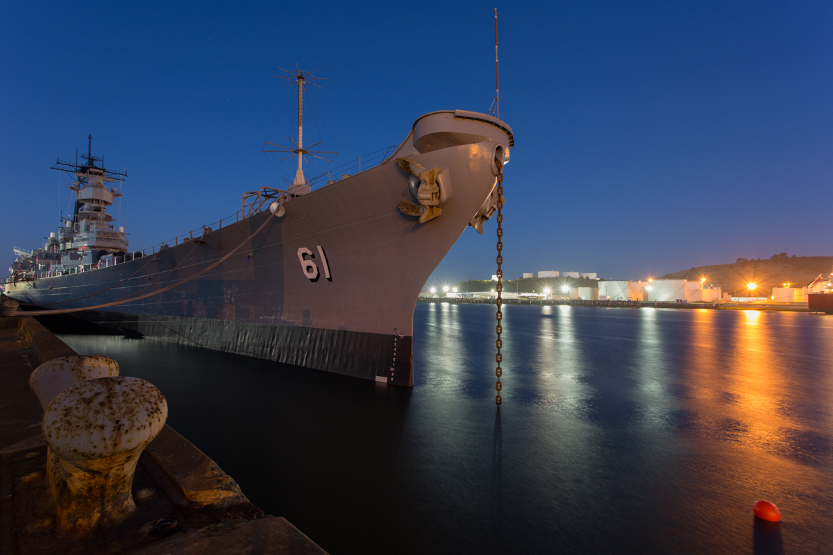 USS Iowa     Terminal 3, Richmond     California