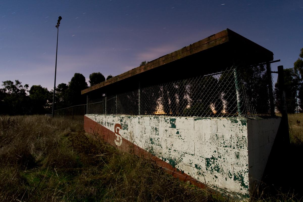 Baseball Field     Skaggs Island Naval Communication Station (Demolished)     California
