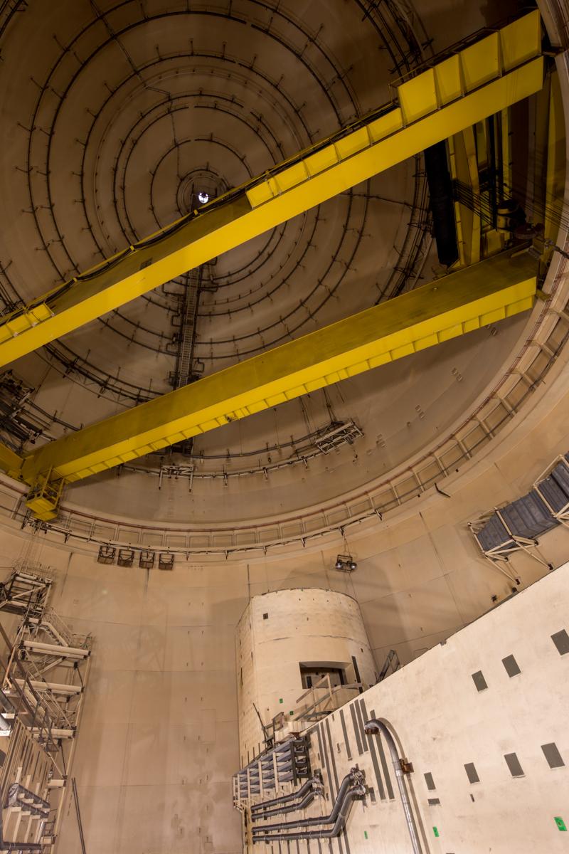 Reactor Building  |  Satsop Nuclear Power Plant  |  Washington