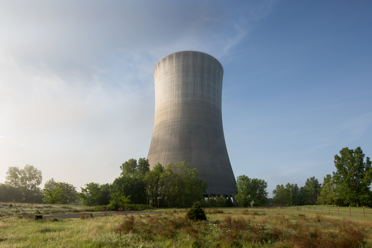 Cooling Tower    |    Hartsville Nuclear Plant    |    Tennessee