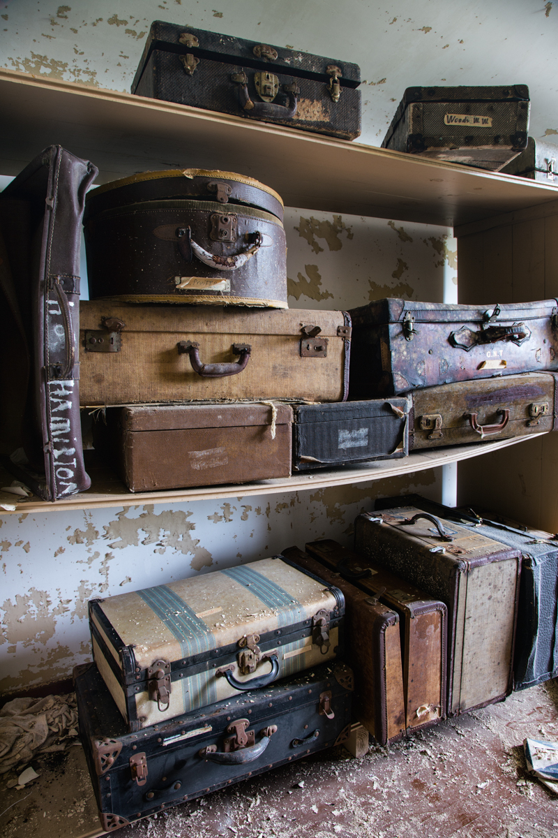 Patient Suitcases  |  Western State Hospital  |  Tennessee
