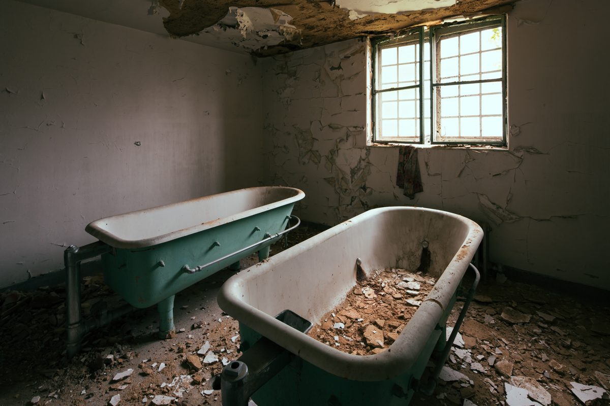Hydrotherapy Tubs  |  Western State Hospital  |  Tennessee