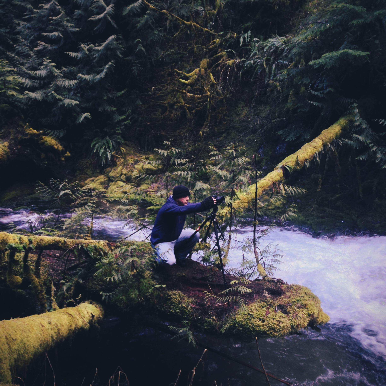 Brian Bonham shooting Panther Falls