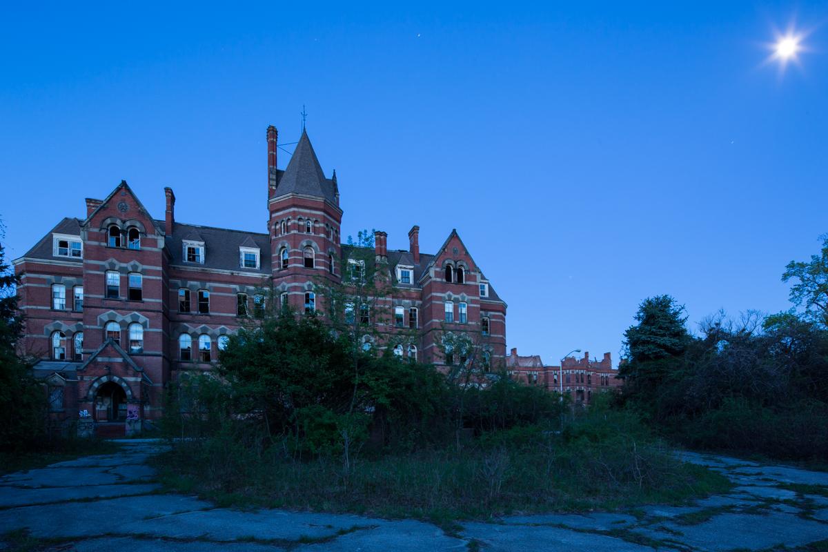 Administration Building  |  Hudson River State Hospital  |  New York